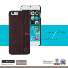 Big stock phone case for iphone 6,high quality custom logo phone wood back cover case
