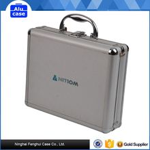 Hard shell waterproof shockproof aluminum tool case for tool