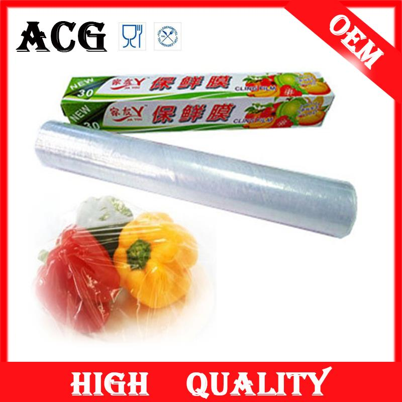 household high quality pe stretch wap film for packaging