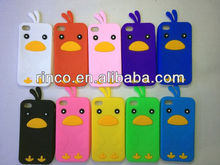 Cute Chick Soft Silicone Phone Case Cover For Apple iPhone 4 4G 4S