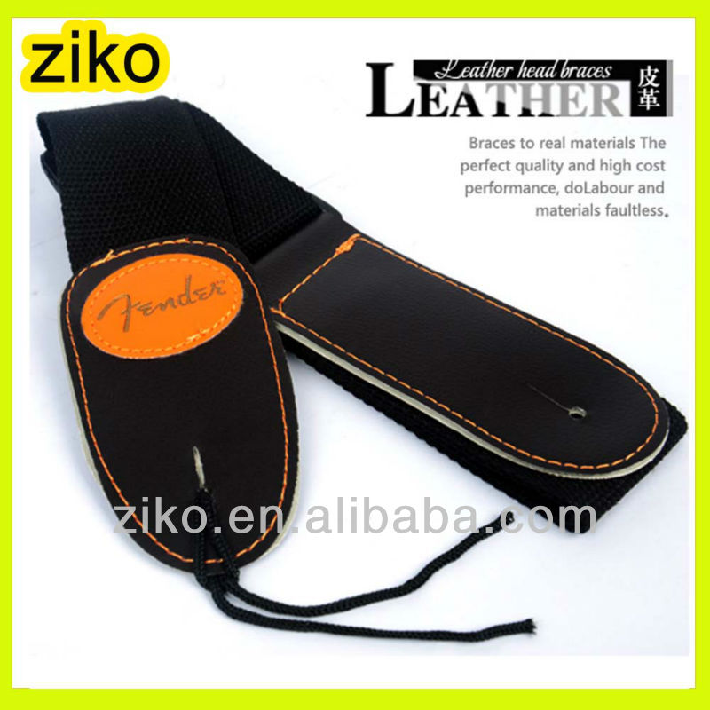 leather end strap for acoustic guitar copy