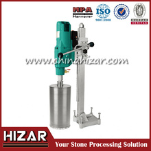 Ultra-deep step core drill machine for granite stone and concrete