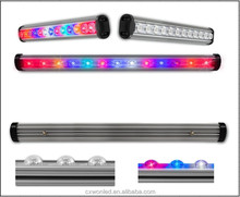 Full spectrum 0.6m 0.9m 1.2m Rigid led grow plant lights 630nm:460nm RED BLUE Customized waterproof led grow light bar