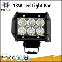 18w 24 volt led light bar offroad led spot light bar for truck 4