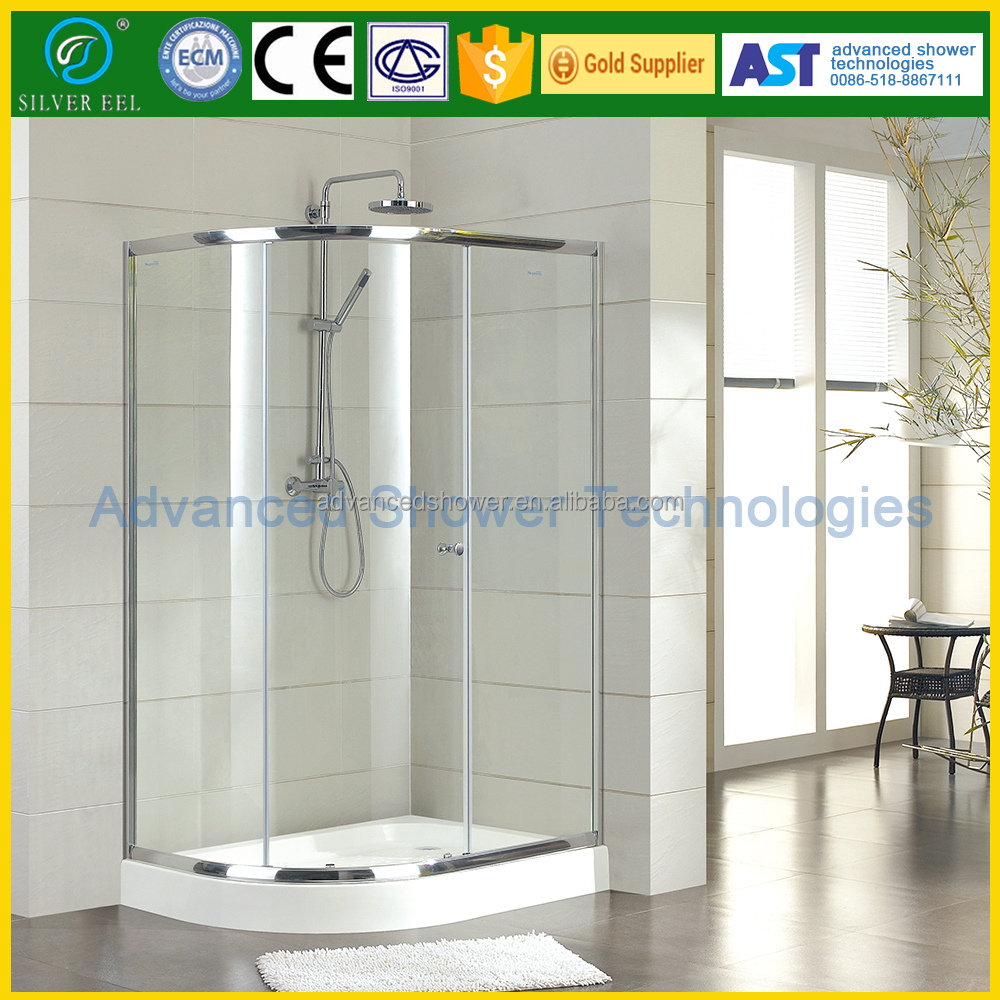 Bathroom Free Standing 2 Sliding Shower Enclosure Buy Shower Enclosure Free