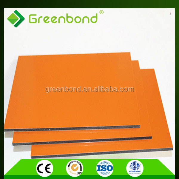 Greenbond new design anti-static aluminum composite acp panel tools