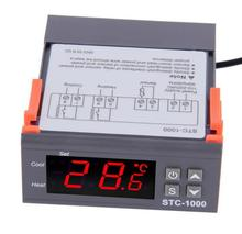 Universal Digital STC-<strong>1000</strong> Temperature Controller Thermostat -50~99C 220 V Aquarium w/Sensor All-Purpose