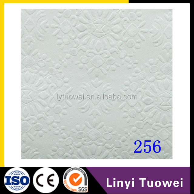 PVC laminated gypsum board/celing tiles