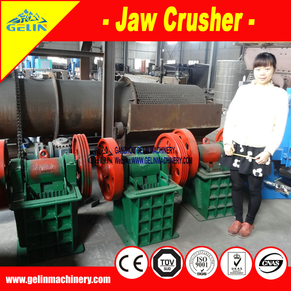 High quality small mini rock jaw crusher