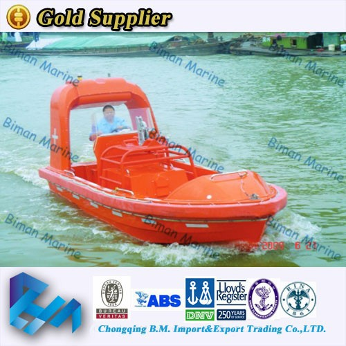 2015 New Products Solas 9 Person Fast Rescue Boat Price