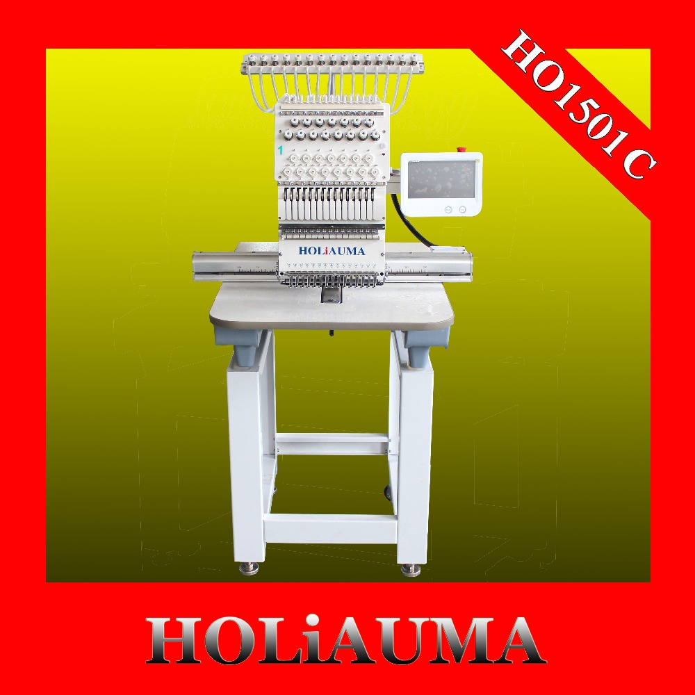 High Precision One Head Computer Embroidery Machine Price