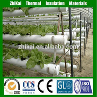 lettuce hidroponia system vertical standard size of rock wool grow media