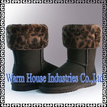 2016 Hot Sale Fashion Walmart Boots Winter Snow Boots For Women