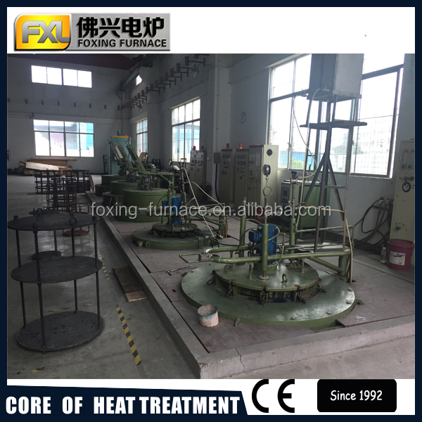 Aluminum die heat treatment furnace