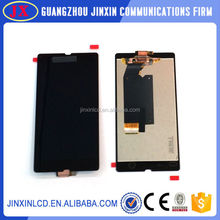 Top Selling Cell Phone LCD+ Touch Screen Replacement Lcds Digitizer Assembly for sony xperia z l36h
