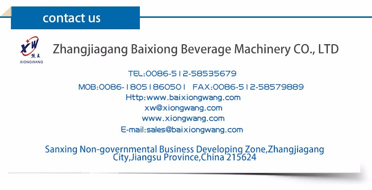 Quality Assurance Drink Filling Machine