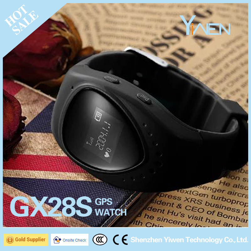 Yiwen Cheap 3G GPS Kids Watch Tracker GX28S for Persons especially Kids, Students, Children