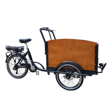 Free Tariff Heavy Duty Front Cabin Electric Cargo Tricycle Price Carry Kids Family Cargo Bike