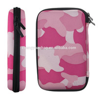 "Portable Hard Disk Drive Shockproof Zipper Cover Bag Case 2.5"" HDD Bag"