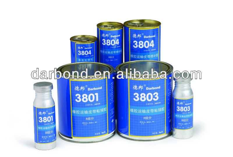 Black Rubber Conveyor Belt Repair polyurethane Adhesive