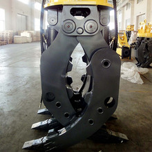 hydraulic excavator rotating grab for sale