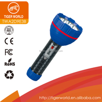 Factory Price 2D Dry Battery Powered Torch Flashlight With 9 LED