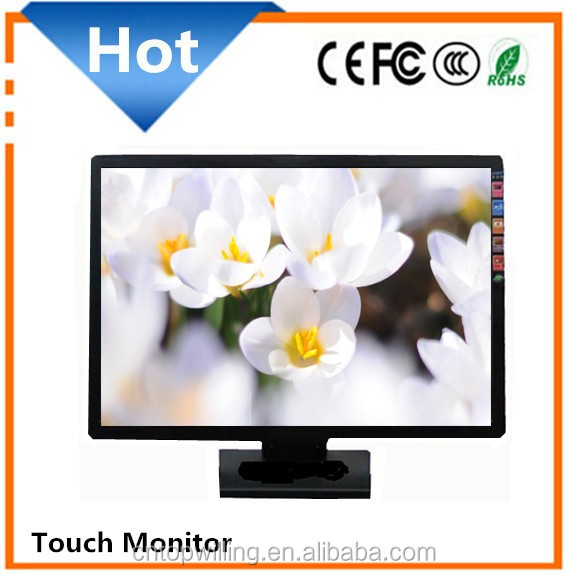 19 inch Widescreen 16:9 LED Resistive Touch Screen Displays/Monitor Touchscreen 19 inch