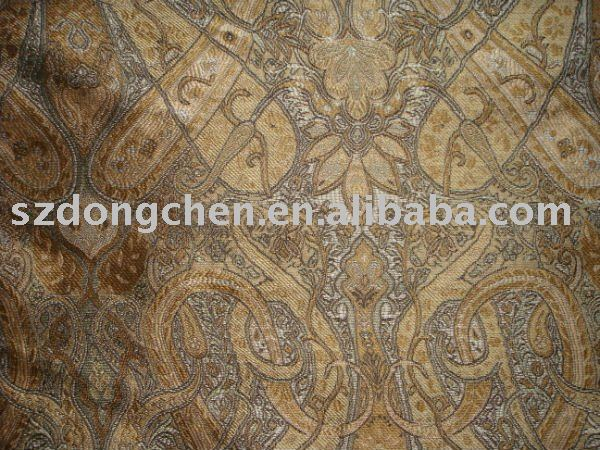 Pure Silk Jacquard Brocade