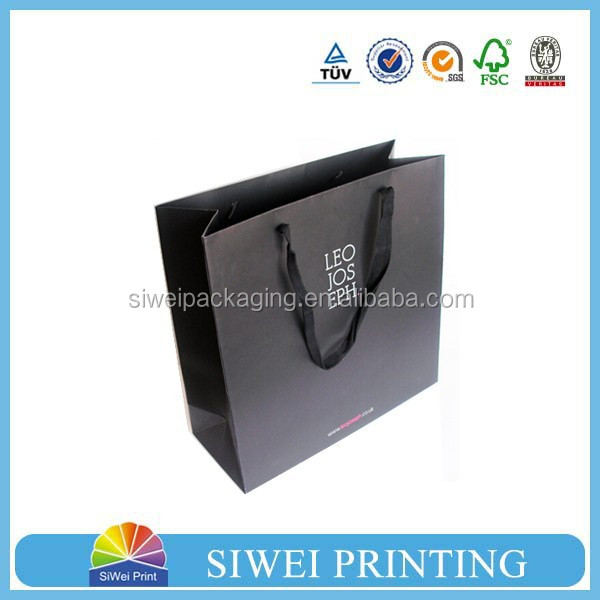 2015 Guangzhou Manufacturer Customized exquisite Recycle paper goody bags