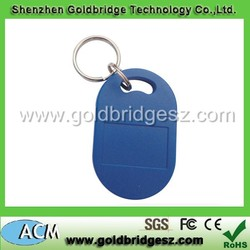 Proximity access control key rings fobs 125KHZ / 13.56MHZ from experience golden supplier