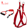 Classic Solid Color Adjustable Dog Harness and Leash Set for Medium and Large pets