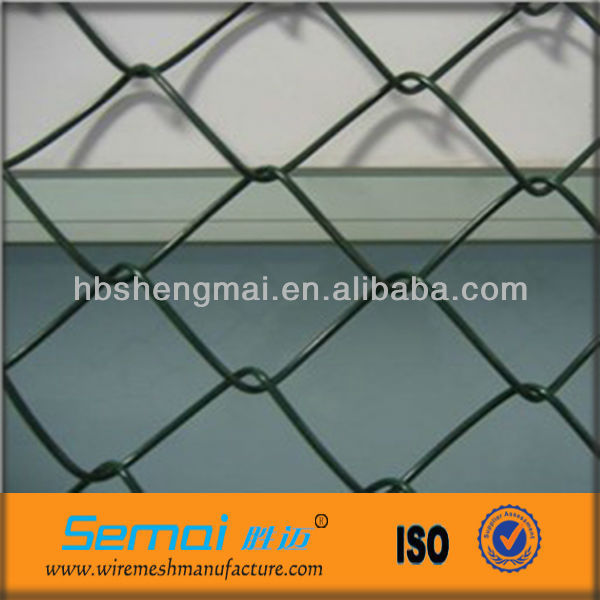 Anping factory high quality pvc coated galvanized used chain link fence gates calculator hot sale (ISO9001;manufacturer)