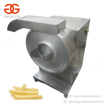 Commercial Electric Sweet Round Potatoes Crisp Chips Cutter Mechanic French Fries Cutting Machine For Sale