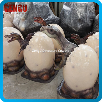 Amusement Park High Quality Fiberglass Dinosaur Egg