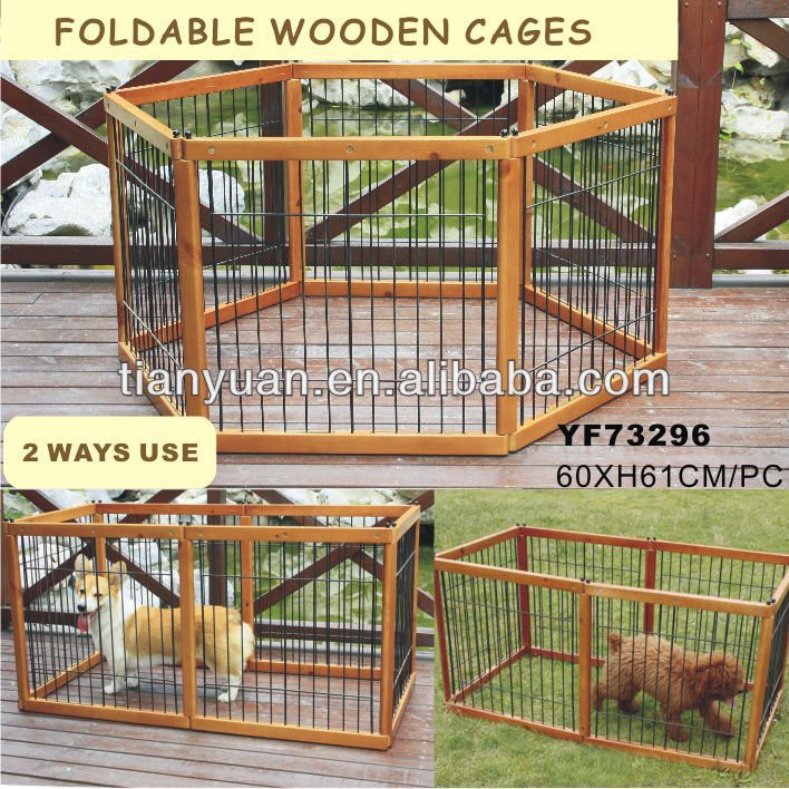 Popular in western wooden dog fence