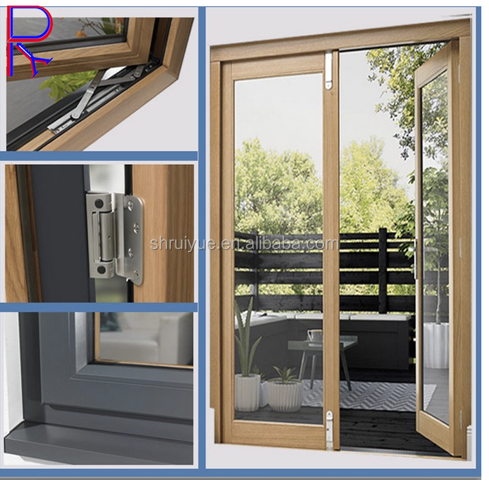 aluminium balcony partition glass sliding door sliding frame with grille