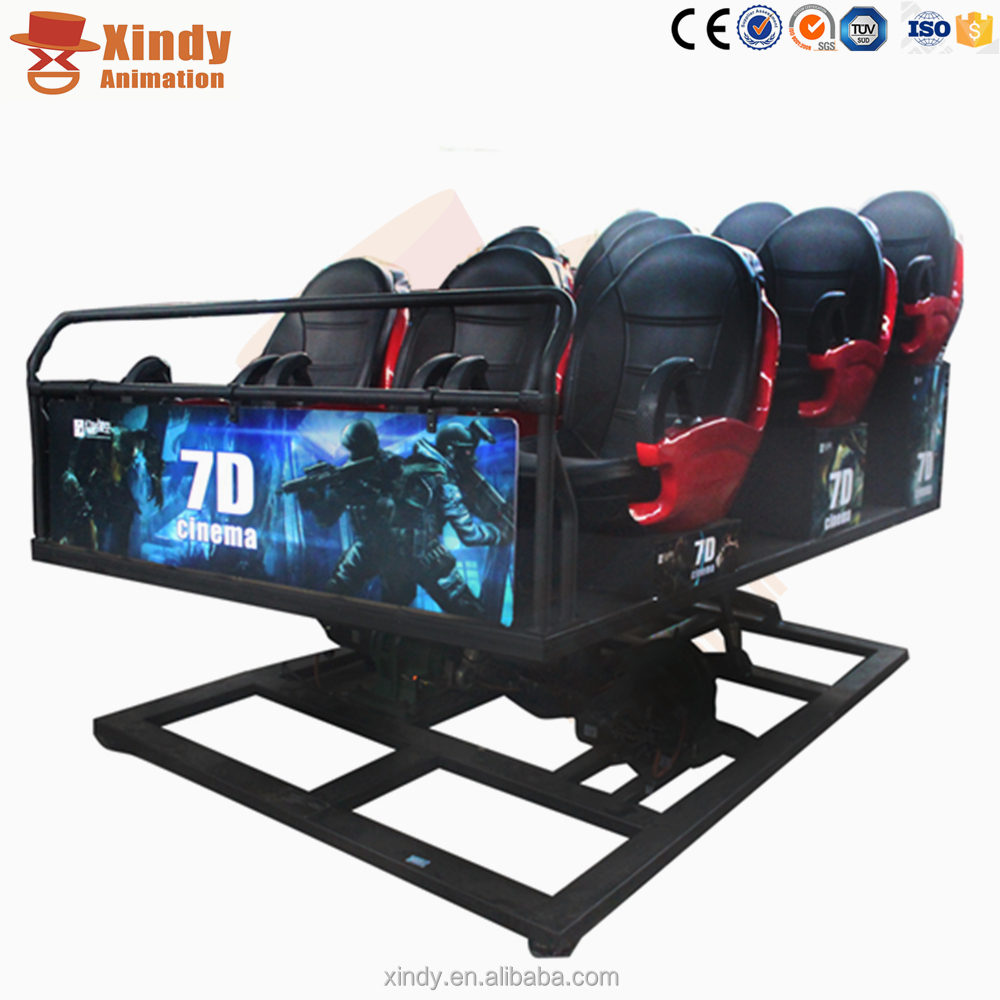 Shooting Game + Hunting x Seats 7d Dynamic Theater With Authentic Movies