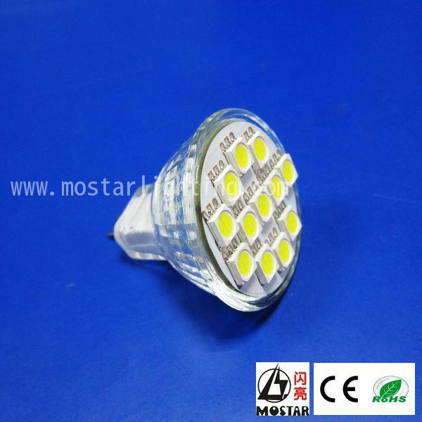 12v led mr16 Spot Light G4 base 35MM 1w led mr11