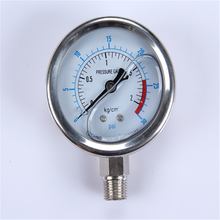 Durable Lightweight Easy To Read Clear Modern vacuum mpa pressure gauge