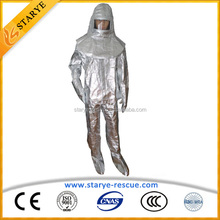 Fabirc Aluminized Film Cheap Price Good Quality Heat Protective Coverall