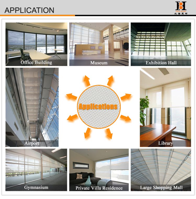 95500 3% Polyester Shade Screen For Vertical Blinds