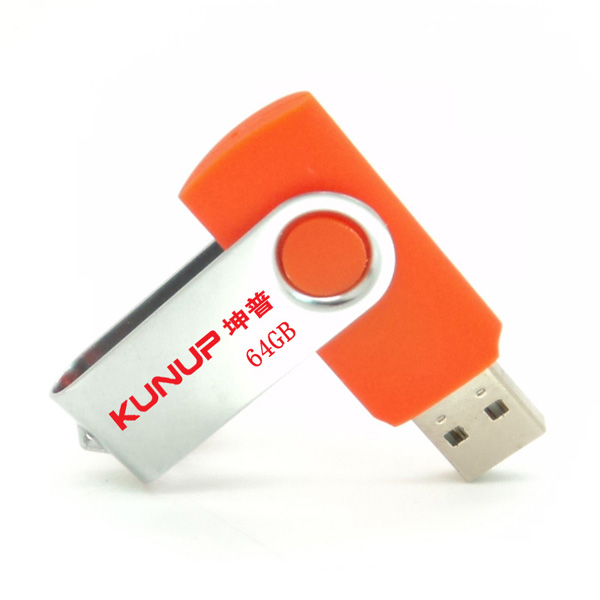 Rotary Shape 8GB 16GB 32GB USB 2.0 Flash Drives Memory Stick For Gift