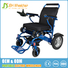 7003 aerospace titanium-aluminum alloy Lithium battery (6AH, DC 24V) portable power manual small electric wheelchairs for sale