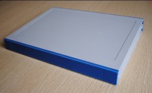 PY024-B quartz sample book/ plastic sample binder catalogue /sample book