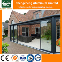 Patio Cover With Sliding Door