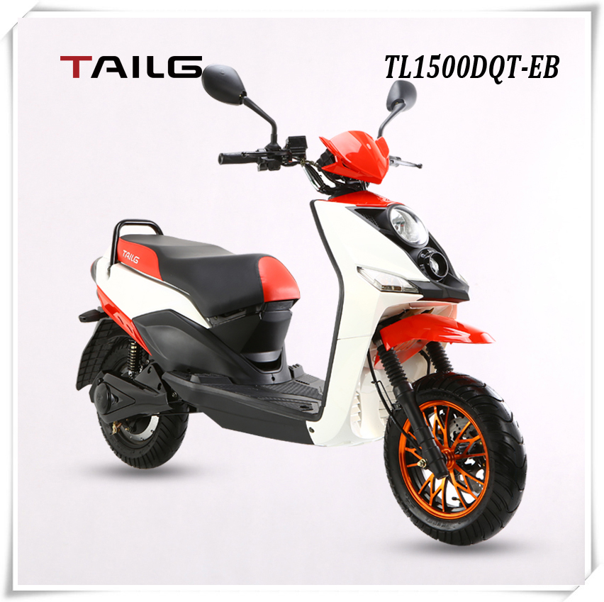2015 fashion 1500W 60V 2 wheel electric bike/scooter/motorcycle