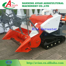 CE Approved Mini Grain Paddy Reaper / Rice Harvesting Machine