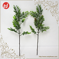 SFL93018 Out door decorations plastic green accessories artificial grass spray with artificial pine leaves and dry fuit plants