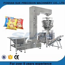 10 14 Heads Weigher Scale Automatic Flow Packing Package Machine for Grain Granule