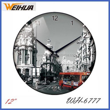 12 inch plastic wall clocks funny designs